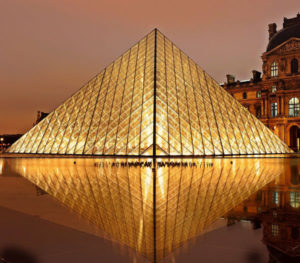 louvre at night - french lessons JHB